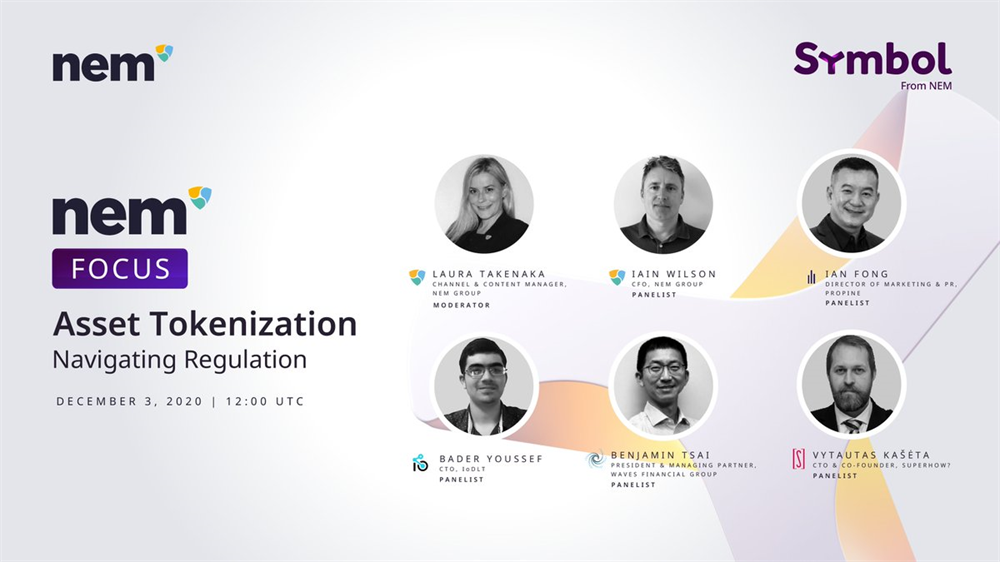 "Webinar ""Asset Tokenization: Navigating Regulation"""
