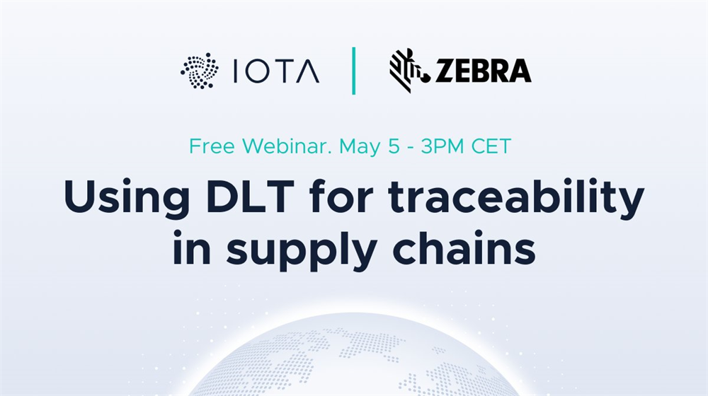 "Webinar ""Using DLT for Traceability in Supply Chains"""