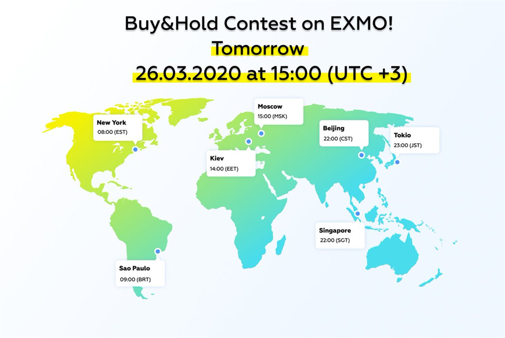 Trading Competition on Exmo