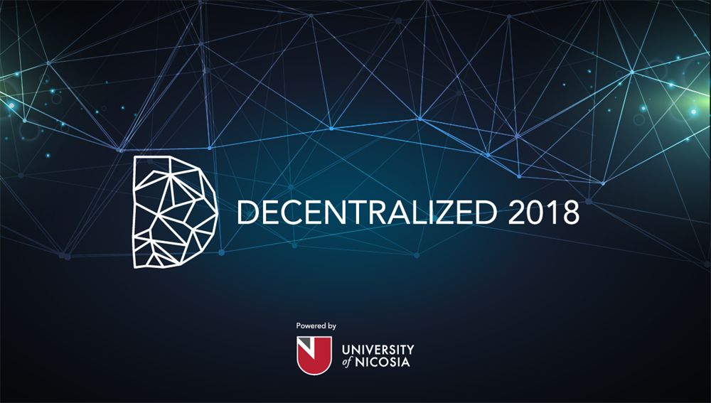 Decentralized 2018 in Athens, Greece