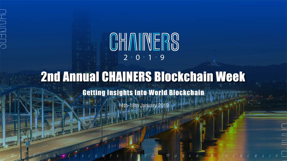 2nd Annual CHAINERS Blockchain Week in Seoul, South Korea