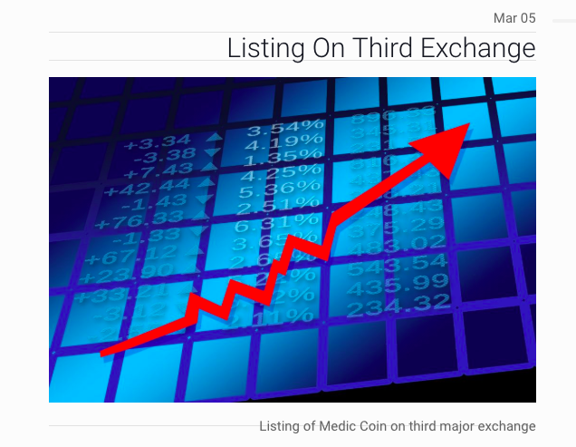 Listing on Third Exchange