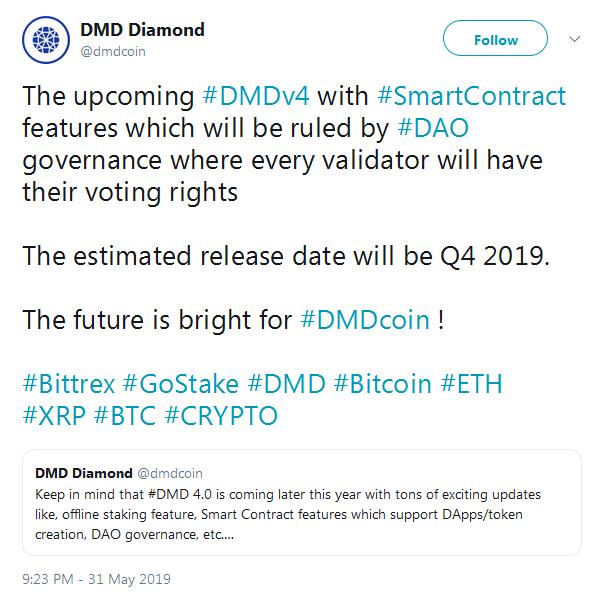 DMD Diamond coin