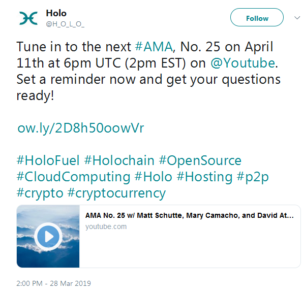 Holo HOT: Delisting From ABCC — Coindar org
