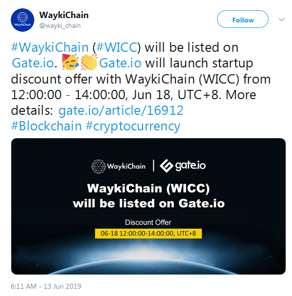 WICC WaykiChain coin