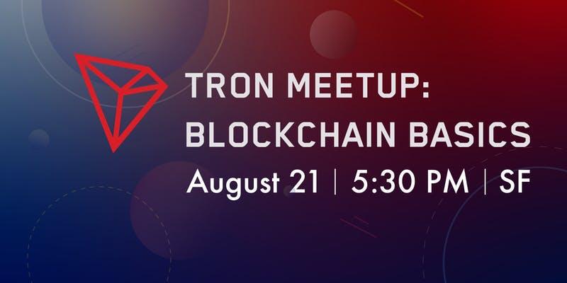 TRON TRX events: airdrop, hard fork, listing